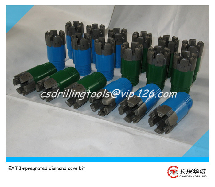 EXT Impregnated diamond core bit