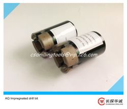 AQ Impregnated diamond core bit